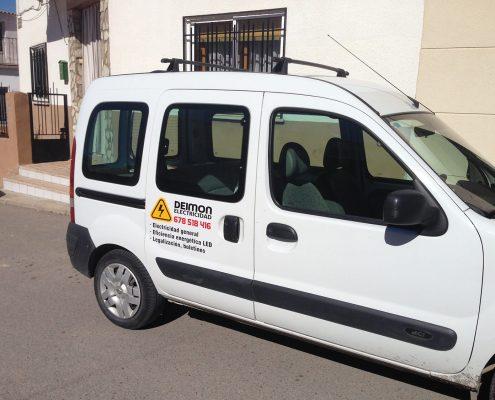 Rotulación Vehiculo Comercial