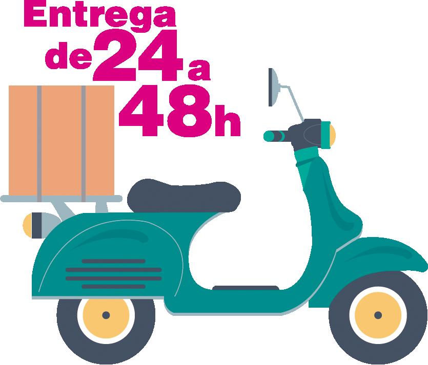 Tarjetas de visita - transporte 24 a 48 horas