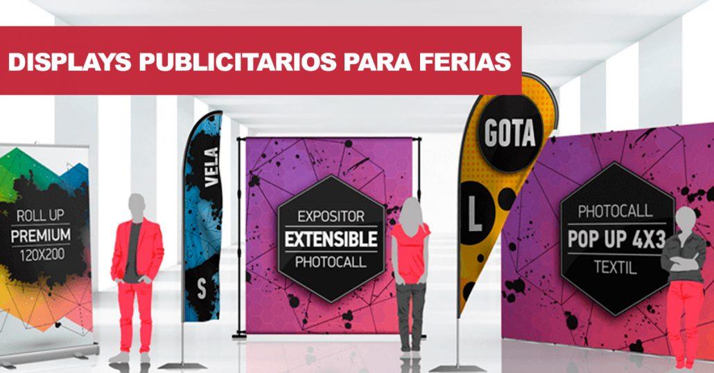 displays promocionales para eventos