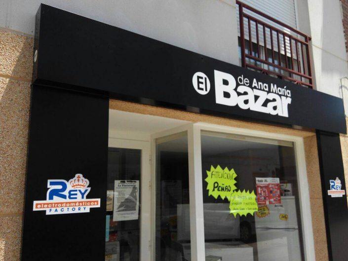 rotulacion bazar tienda regalos