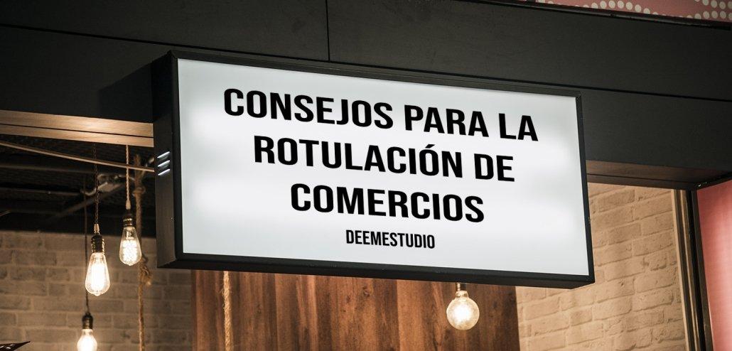 ROTULACIÓN DE COMERCIO-DEEMESTUDIO
