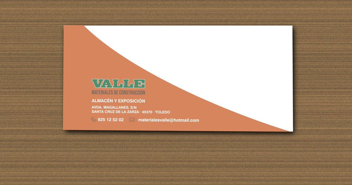 VALLE MATERIALES - SOBRE