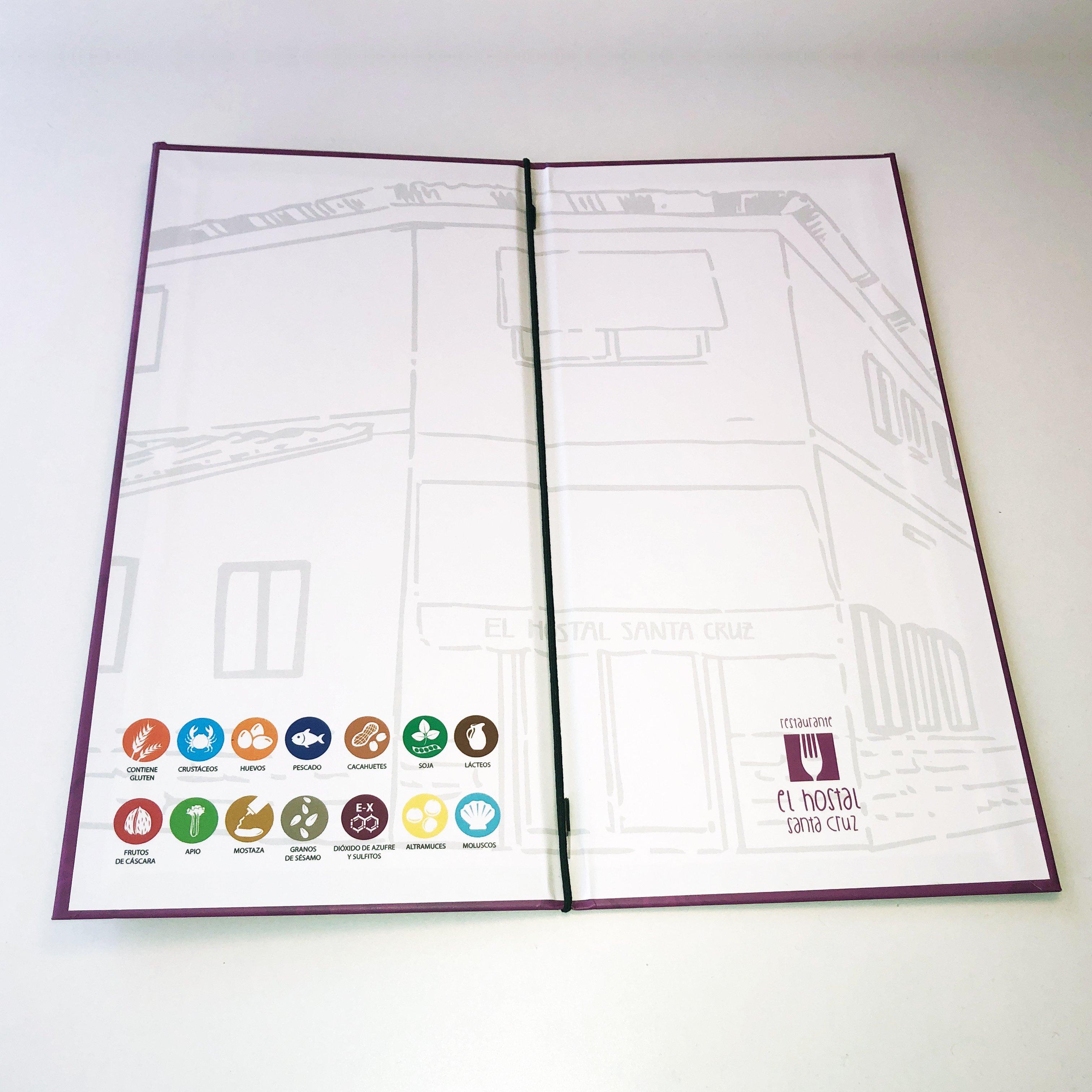 cartas menu restaurante